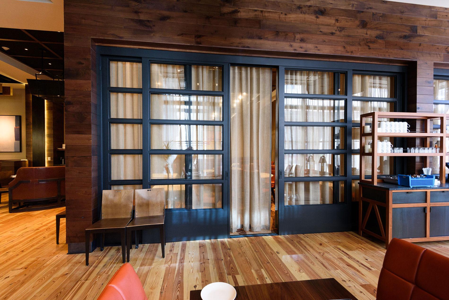 Oversized Steel Sliding Door